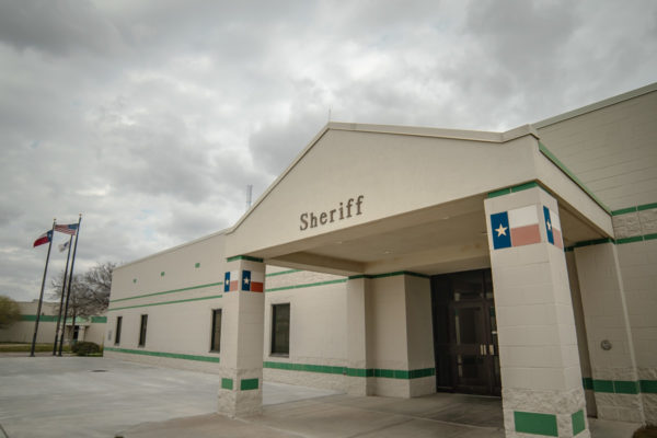 Ector County Sheriff office exterior and entrance
