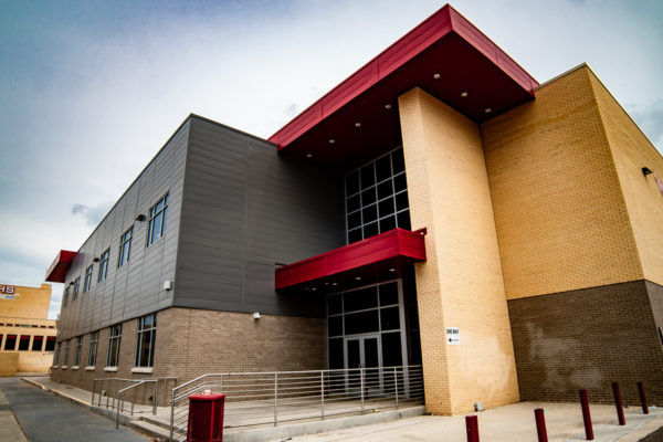 Odessa High School front entrance