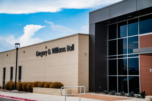 Odessa College of Continuing Education Gregory D. Williams Hall entrance