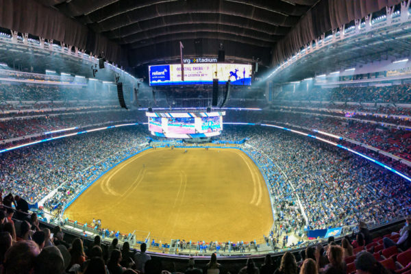 NRG Stadium full crowd