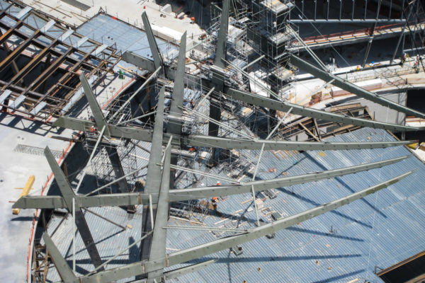 Above image of Aria steel frame