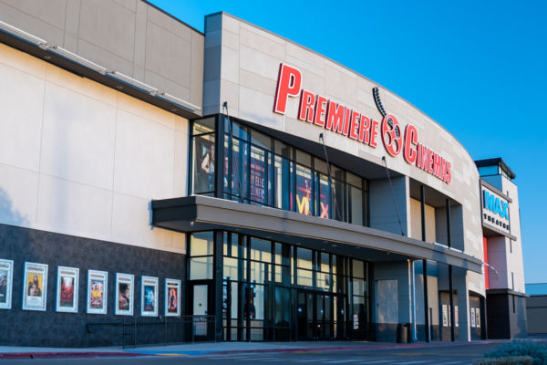 Premiere Cinemas front entrance