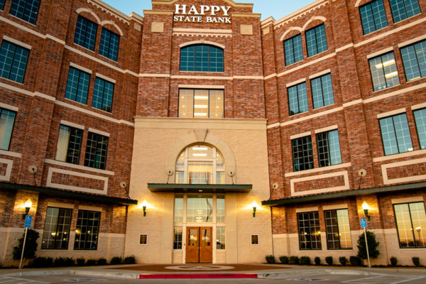 Happy State Bank front entrance