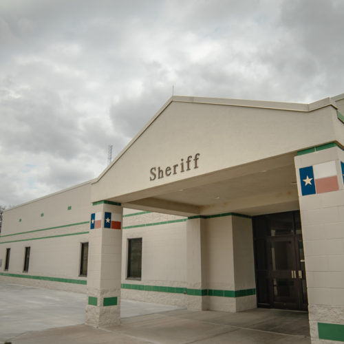 Ector County Sheriff office entrance