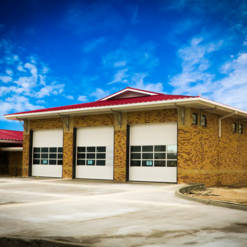 Fire Station #4 bays