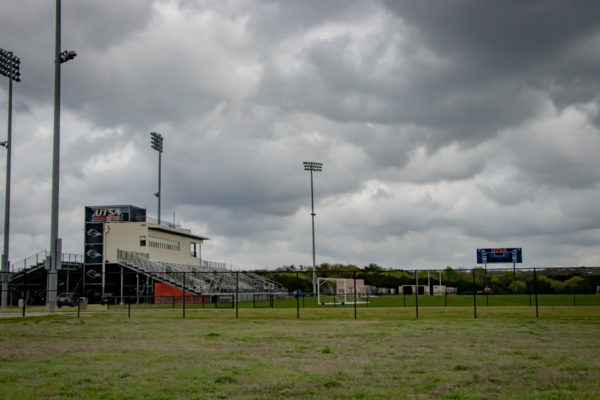 UTSA Athletic Complex distant view of field
