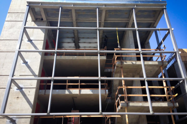 Santa Clara Parking steel construction