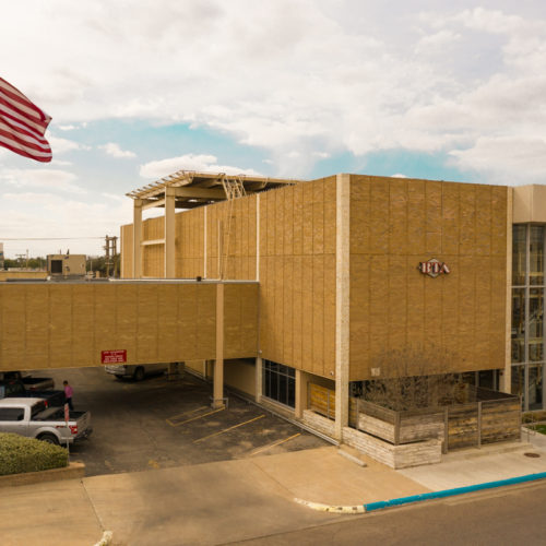 BTA oil producers building exterior view