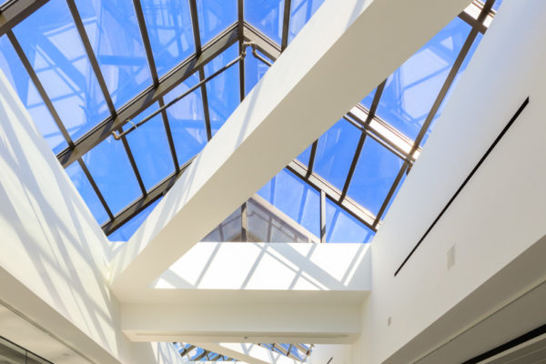 LAX United Airlines Terminals 7 & 8 skylight